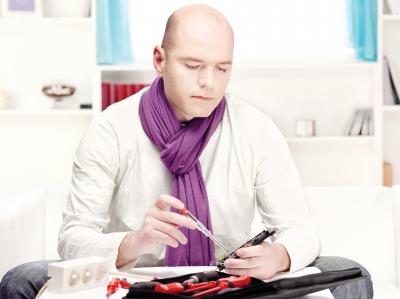 bald headed entrepreneur