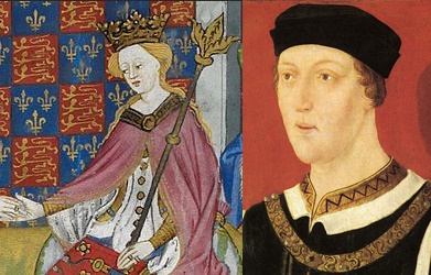 Margaret of Anjou and Henry VI