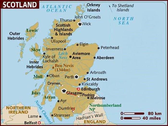 18.5 Map of Scotland