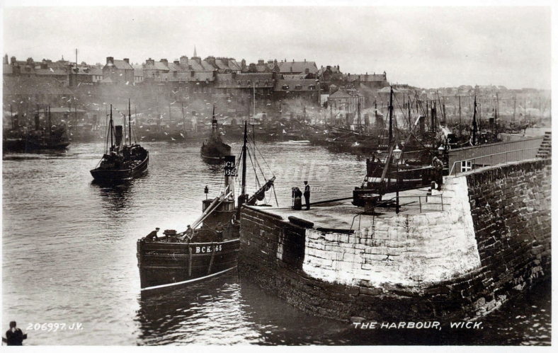 19 Wick Harbour, 19th century