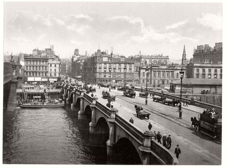 20 19th century glasgow from 'Historic B&W photos etc' from monovision.com