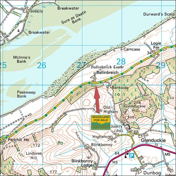 22.6 Ballinbreich map