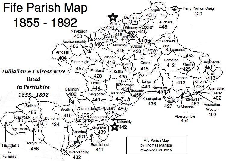 22.8 Fife Parish Map