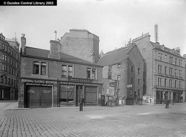 24.8 Old Dundee, late 19th century, Crichton St, note Lyall Fruiterer