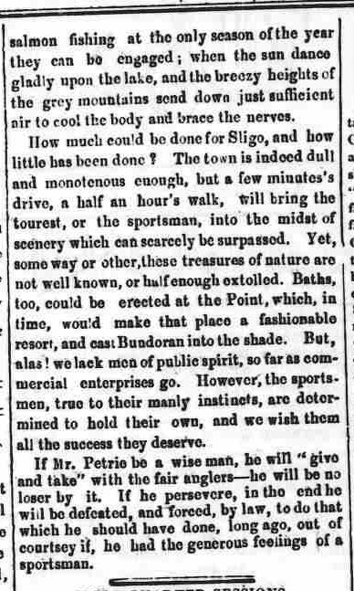 4.85 part two of poison pen article, The Sligo Champion, July 1, 1854