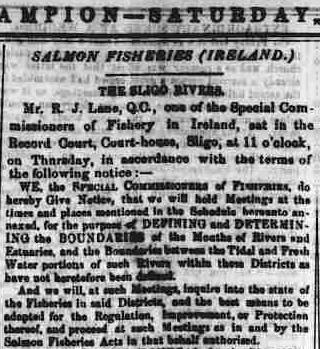 4.971 Wm Petrie deposition in court June 30 1866 Sligo Champion article header
