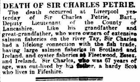 5.2 obit Sir Charles Petrie, Sr.