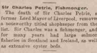 5.5 Sir Charles Petrie Sr. obit, Leeds Mercury, Paul Pry, July 10, 1920