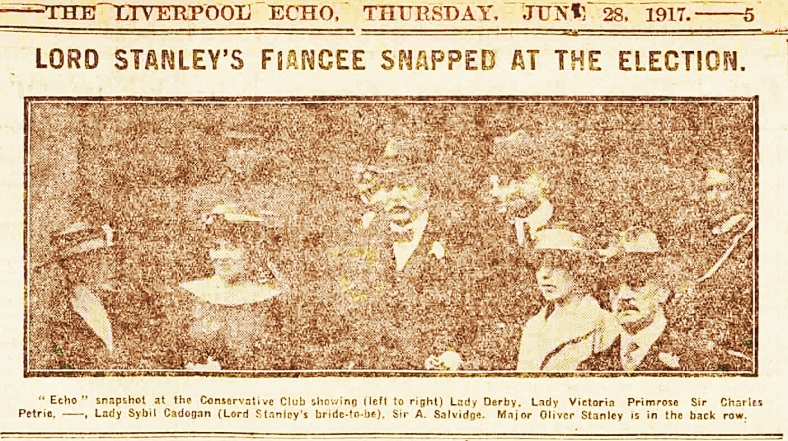 PHOTO of Sir Charles Petrie, 1st Bt, June 28, 1917, The Liverpool Echo